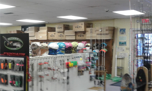 Hook Line and Sinker Retail Tackle Shop in Texas